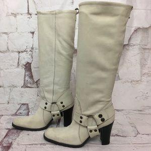 New vintage 90s ALDO boots suede 8